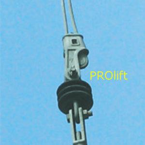 Open wedge socket pt. cablu 37-40 mm