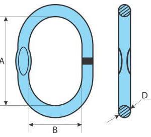 Ochet simplu G100 30.8 to