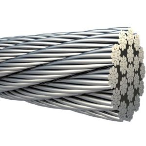 Cablu Rezistent la Rotatie 18×19+WSC Zincat Gresat