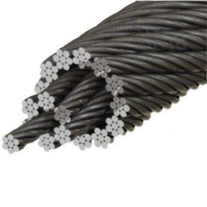 Cablu Rezistent la Rotatie 18×7+WSC Zincat Gresat