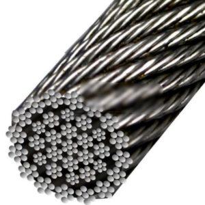 Cablu Antigiratoriu 35×7+WSC Zincat Gresat