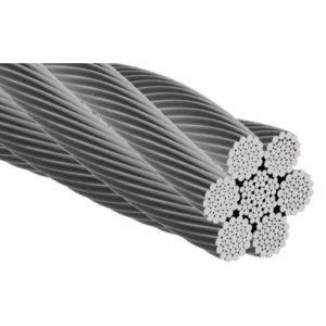 Cablu tracțiune 6x36WS+IWRC US Zincat